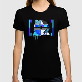 Waiting for the show to begin (Test Pattern 4) T-shirt