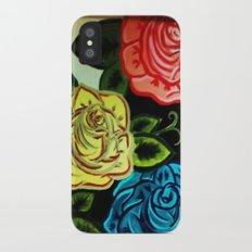 Rose Mural (Part One) Slim Case iPhone X