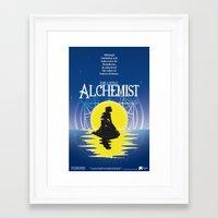 fullmetal alchemist Framed Art Prints featuring The Little Alchemist by Fancy Pants Artistry