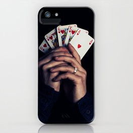cards poker win iPhone Case