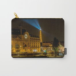 Musee d'Orsay in Paris at night Carry-All Pouch