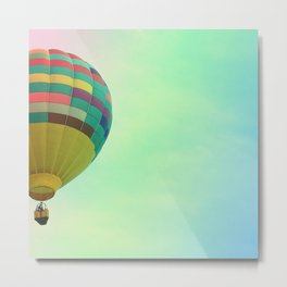 Hot Air Magic Metal Print