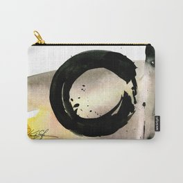 Enso Abstraction No. 105 by Kathy morton Stanion Carry-All Pouch