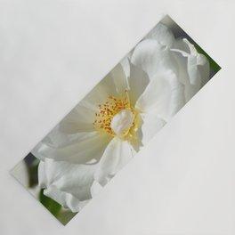 White Rose In Full Sun Yoga Mat