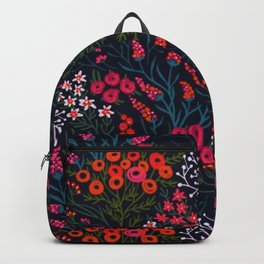 Glow in The Dark Flowers Backpack