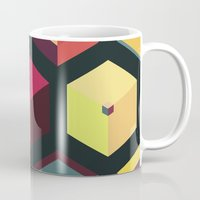 fez Mugs featuring Idea Kitchen by Terran Relic