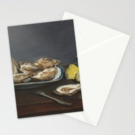 Édouard Manet - Oysters Stationery Cards