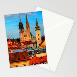 Croatia Cathedral Stationery Cards