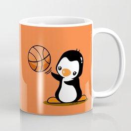 Basketball Penguin (2) Coffee Mug