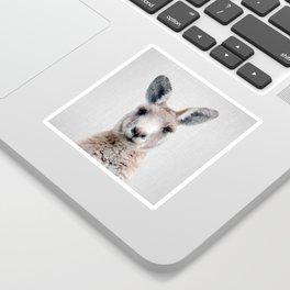Kangaroo - Colorful Sticker