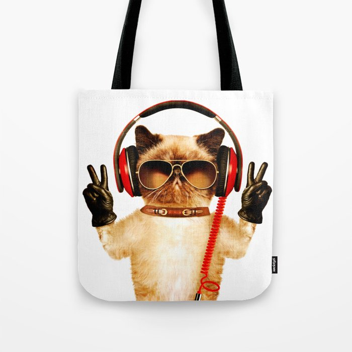 Chill Cat Tote Bag