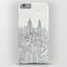 Winter in New York iPhone 6 Plus Slim Case