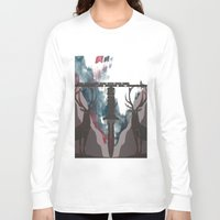 skyfall Long Sleeve T-shirts featuring Skyfall Movie Poster by Salmanorguk