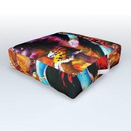 Hindu Kali 19 Outdoor Floor Cushion