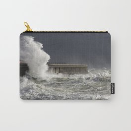 Storm Brian Hits The UK Shores Carry-All Pouch