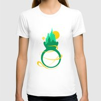 emerald T-shirts featuring Emerald Ring by Tobe Fonseca