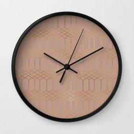 geometric vi x iii Wall Clock