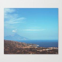 Beautiful Greece Canvas Print