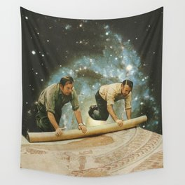 The big reveal Wall Tapestry