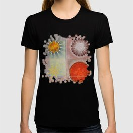 Flagonet Reality Flowers  ID:16165-093245-05721 T-shirt