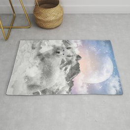 The Soul That Sees Beauty Rug