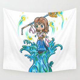 Dancing on Water Wall Tapestry