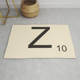 Scrabble Z Rug