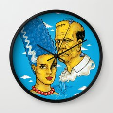 Reanimated Wall Clock