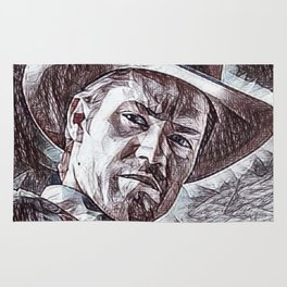 Justified - Timothy Olyphant Rug
