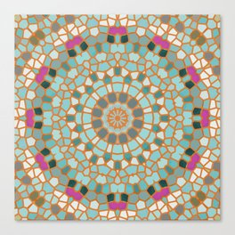 Mosaic 4m Canvas Print