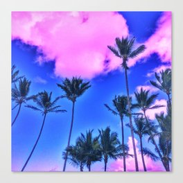 Pink Island Canvas Print