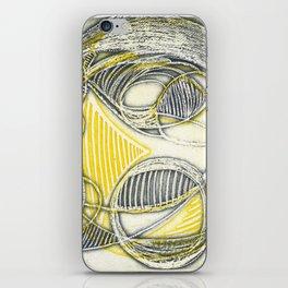 Circular abstraction iPhone Skin