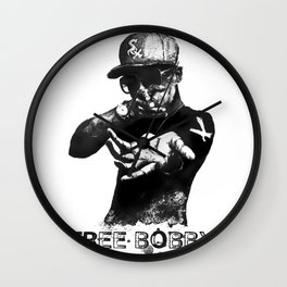 Free Bobby Shmurda Lithograph Wall Clock