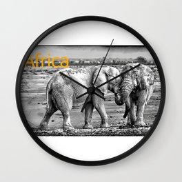 Africa I Wall Clock