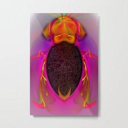 Bug of Mars ... Metal Print