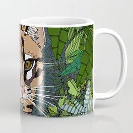 ocelot jungle nightshade Coffee Mug