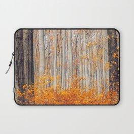 orange autumn Laptop Sleeve