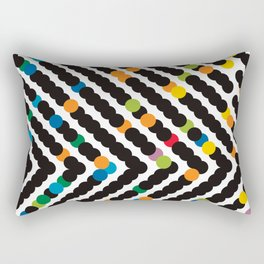 ARROW - dots Rectangular Pillow