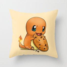 Cookiemander Throw Pillow