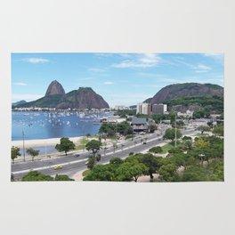 Rio de Janeiro Landscape Rug
