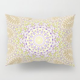 Purple pattern Pillow Sham