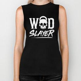 WOD Slay er Skull Biker Tank