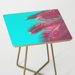 Neon Palm Side Table