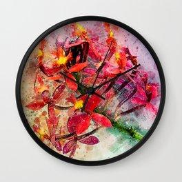Epidendrum Wall Clock