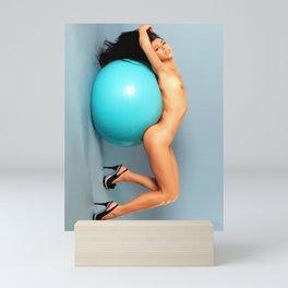 Amazing beauty naked Mini Art Print