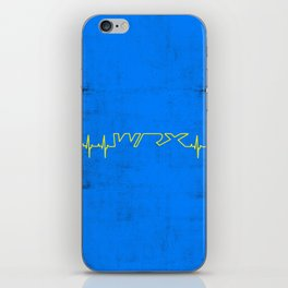 WRX Heartbeat iPhone Skin