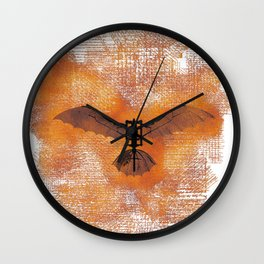 The Da Vinci Flying Machine Wall Clock