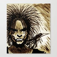 sandman Canvas Prints featuring Sandman by MSG Imaging