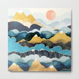 Cloud Peaks Metal Print
