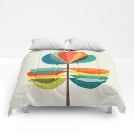 Whimsical Bloom Comforters